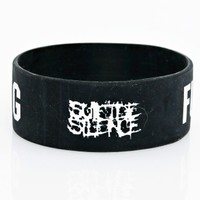 Suicide Silence - Fuck Everything - Bracelet