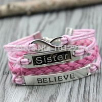 Aliexpress.com : Buy Lovers bracelet gift he and her bracelet, combination of beauty and the beast bracelet from Reliable gift grandpa suppliers on lolita2014 | Alibaba Group