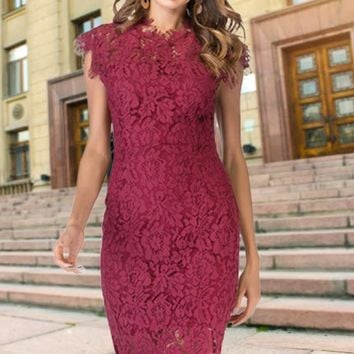 Sanford Lace Dress