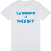 SWIMMING IS THERAPY