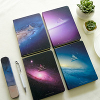 The Other End Of Galaxy Series Notebook Korea Sketchbook Diary Notebook Stationery Notepad School Supplies 1PCS