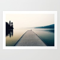 Tranquility Art Print by RDelean