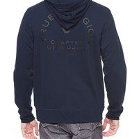True Religion Crafted With Pride Mens Zip Hoodie - Midnight
