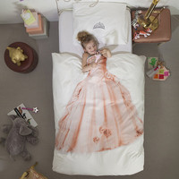 Princess Duvet Cover & Pillow Case Bedding Set - Now Available in Twin or Full Size