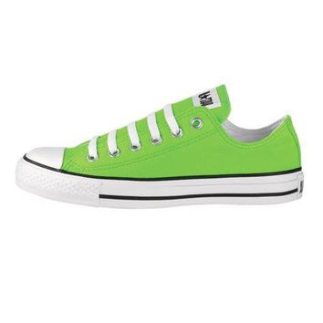 Converse All Star Lo Athletic Shoe, Bright Green, at Journeys Shoes