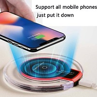 Support all mobile phone wireless chargers
