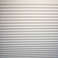 "Quick Fix Light Filtering Pleated Fabric Shade White, 48"" x 72"""