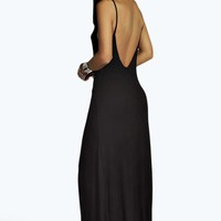 Petite Scarlett Scoop Back Maxi Dress