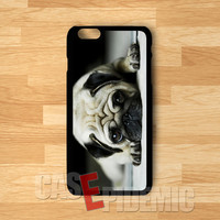 Pug dog puppy eyes -ssard for iPhone 6s | iPhone 5s | iPhone 6 | iPhone 4S