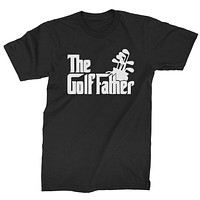 The Golf Father Golfing Dad  Mens T-shirt