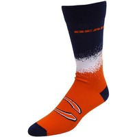 CHICAGO BEARS MARQUEE SOCKS SIZE MEDIUM BRAND NEW FOR BARE FEET