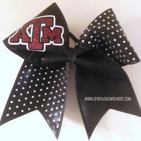 Going off to College Rhinestone Large Cheer by SparkleBowsCheer
