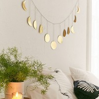 Hammered Extra-Long Metal Moon Cycle Banner | Urban Outfitters