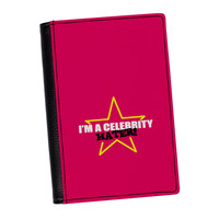 Celebrity Hater High Quality PU Faux Leather Passport Cover by Chargrilled
