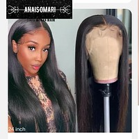 13x4 12A Lace Front Human Hair Wigs 8-30 Inches pre plucked