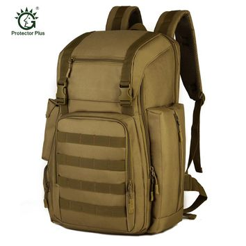 40L Tactical Molle Shoulder Bag Military Camping Hunting Bags Large Travel Rucksack Outdoor Multifunctional Climbing Backpack