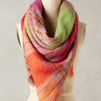 Sibsey Plaid Scarf by Anthropologie