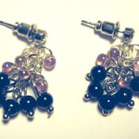 "Shaggy ""Cherish"" Pierced Earrings Handcrafted in USA"