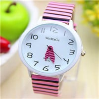 New Arrival Zebra Strap Wrist Watch Assorted Colors