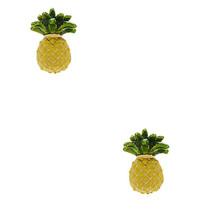Kate Spade Any Way You Slice It Studs Yellow Multi ONE