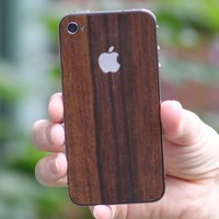 Teksure Parudao Wood iPhone 4 skin FREE SHIPPING by luckylabs