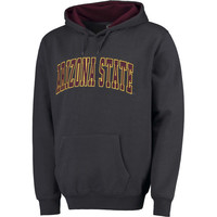 Arizona State Sun Devils Colosseum Arch Pullover Hoodie - Charcoal