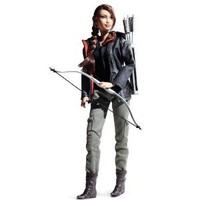 Amazon.com: Barbie Collector Hunger Games Katniss Everdeen Doll: Toys & Games