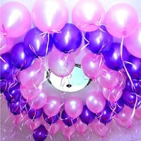 100Pcs/Lot Latex Balloon,Party & Holiday Decoration Christmas Ballons,Wedding Party and 1st Birthday Balloon Colorful Hot Sale! = 1945762180