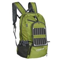 Green 3.25 Watt Solar Panel Backpack Smartphone Tablet Battery Charger