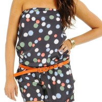Forever SEXY MEDIUM ROMPER TUBE ONE PIECE OUTFIT Jumpsuit
