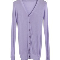Long Sleeves Knitted Cardigans