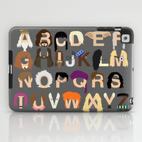 Harry Potter Alphabet iPad Case by Mike Boon