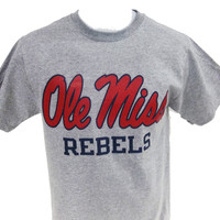 Russell Ole Miss Rebels Tee - Campus Book Mart