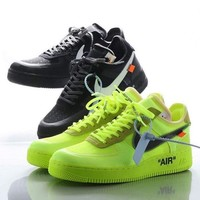 Off-White x Nike Air Force 1 Low Volt - Best Deal Online