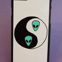 Alien Yin Yang Phone Case