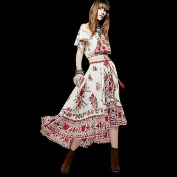 The Danish Bohemian Dress