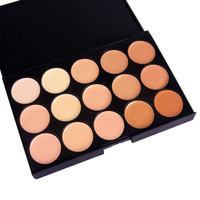 15 Colors Professional Salon/Party Contour Face Cream Makeup Concealer Palette