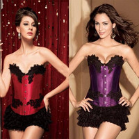 Shaper Body Waist Elegant Palace Steel Boned Sexy Slim Corset [4965292100]