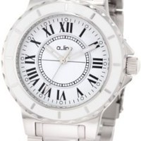 a_line Women's AL-20013 Marina White Dial Stainless Steel Watch