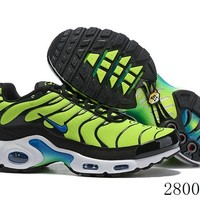 Hcxx 19July 1190 Nike Air Max Plus QS 852630-700 Retro Sports Flyknit Running Shoes