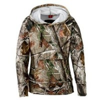 SHE® Outdoor Apparel Expedition Tech Camo Pullover Top for Ladies