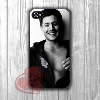 Supernatural cast Jensen Ackles -4N for iPhone 4/4S/5/5S/5C/6/ 6+,samsung S3/S4/S5,samsung note 3/4
