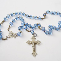 Turquoise Rosary with Cross