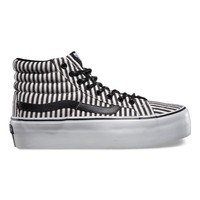 Vans Hickory Stripes SK8-Hi Platform (black)