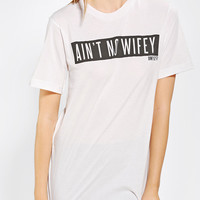 Urban Outfitters - DimePiece Ain't No Wifey Tee