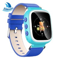 2017 Smart Safe GPS 1.44' Colorful Oled screen Wristwatch SOS Location Finder Tracker for Kids Son Child Watch Anti Lost Monitor