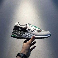 New Balance Fashion Casual All-match N Words Breathable Couple Sneakers Shoes Light grey I-A0-HXYDXPF Tagre™