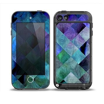 The Multicolored Tile-Swirled Pattern Skin for the iPod Touch 5th Generation frē LifeProof Case