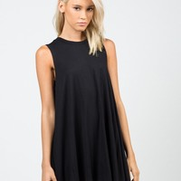A-Line Swing Tunic Dress