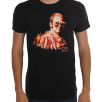 Elton John Big Glasses T-Shirt